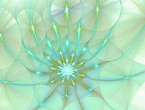 Abstract fractal image Royalty Free Stock Photo