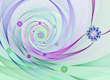 Abstract fractal image Royalty Free Stock Images