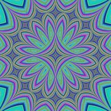 Abstract fractal kaleidoscope design background. Computer generated art Stock Photography