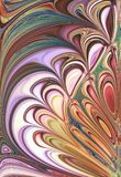 Abstract fractal leaf. Abstract fractal with feather or leaf pattern Stock Illustration