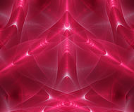 Abstract fractal magic red Stock Photo