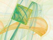 Abstract fractal ontwerp stock illustratie