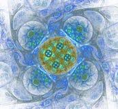 Abstract Fractal Ontwerp Royalty-vrije Stock Afbeeldingen