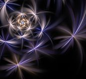 Abstract Fractal Ontwerp Stock Foto