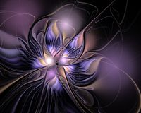 Abstract Fractal Ontwerp Royalty-vrije Stock Afbeelding