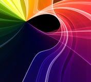 Abstract fractal ontwerp Stock Afbeeldingen