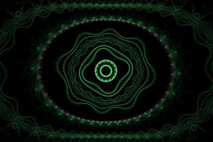 Abstract fractal ornament Royalty-vrije Stock Afbeelding