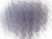 Abstract fractal patroon met geruite krommengolf Stock Fotografie