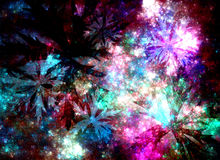 Abstract fractal placer jewelry Royalty Free Stock Photos