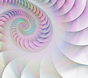 Abstract fractal shell Stock Photography