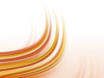 Abstract fractal smokey background. Red lines, waves Stock Image