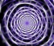 Abstract fractal spiraalvormig computer geproduceerd beeld Stock Foto