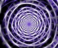 Abstract fractal spiral computer generated image Stock Photo