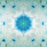 Abstract fractal star of David Stock Photo