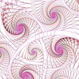 Abstract fractal swirly patroon Royalty-vrije Stock Afbeeldingen