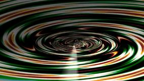 Abstract fractal tunnel stock video footage