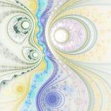 Abstract fractal uurwerk Royalty-vrije Stock Foto's