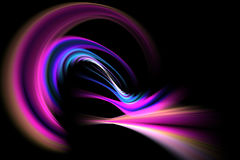 Abstract Fractal Vortex Royalty Free Stock Images