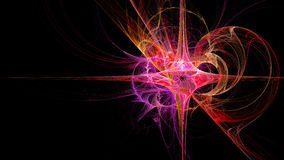 Abstract. Fractal Wallpaper on your desktop. Widescreen. Digital artwork for creative graphic design Stock Photography