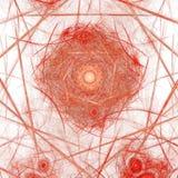 Abstract fractal Web vector illustratie