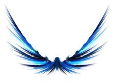 Abstract Fractal Wings Royalty Free Stock Photos