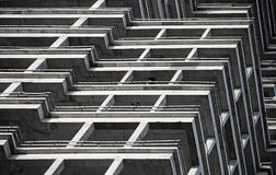 Abstract fragment of building under construction Stock Photos