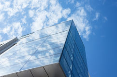 Abstract fragment of modern architecture Royalty Free Stock Photo