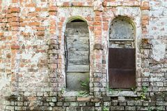 Abstract fragment of an old brick wall Stock Image