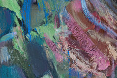 Abstract fragment of painting Stock Image