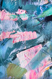 Abstract fragment of painting Royalty Free Stock Image