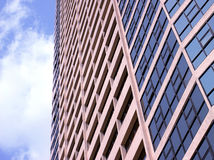 Abstract fragment of the urban architecture Stock Photography