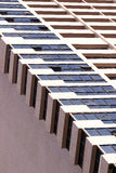 Abstract fragment of the urban architecture Royalty Free Stock Photo