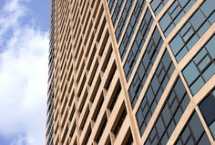 Abstract fragment of the urban architecture Royalty Free Stock Images