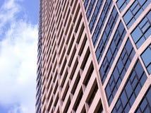 Abstract fragment van de stedelijke architectuur Stock Fotografie