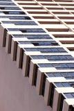 Abstract fragment van de stedelijke architectuur Royalty-vrije Stock Foto