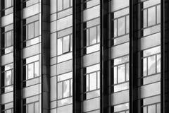 Abstract fragment van moderne architectuur Royalty-vrije Stock Afbeelding