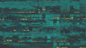 Abstract Fragmented Noisy Pixel Background  - Vector Illustratio Royalty Free Stock Photography