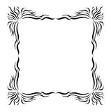 Abstract frame. Abstract-designed frame s. Are grouped stock illustration