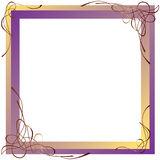 Abstract frame. Royalty-vrije Stock Foto