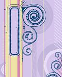 Abstract frame. royalty free illustration