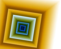 Abstract frame & 3d Room Royalty Free Stock Photography