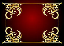 Abstract frame. Royalty Free Stock Image