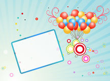 Abstract frame stock illustration