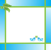 Abstract Frame Stock Image