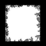 Abstract frame for congratulations cards. There is a contrast idea frame from various lines Royalty Free Stock Photos