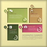 Abstract frame infographics Royalty Free Stock Image