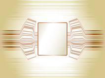 Abstract technology template frame Stock Photo