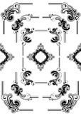 Abstract frame ontwerp Royalty-vrije Stock Foto's
