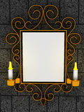 Abstract frame, ornament Royalty Free Stock Photography