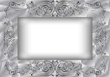 Abstract frame with ornament Royalty Free Stock Images